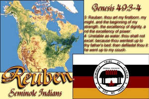 Tribe of Rueben Seminole Indians etc Cont below by 12TribesOfIsrael