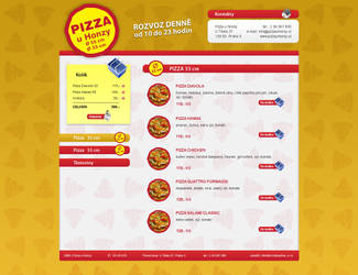 Pizza web by SULiik