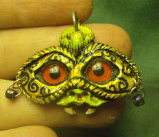 Vampire in Disguise Pendant by mistyscreations
