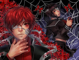 Contest - Red Spider Lily by CeryliaRectris