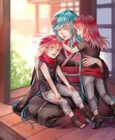 Contest - Kobayashi Family by CeryliaRectris