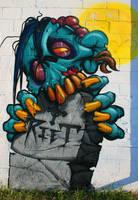 Grave Zombie by RietOne