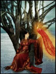 Winter Phoenix by xrazorblade-beautyx