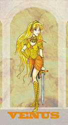 Sailor Venus : Silver Mill. by Le-Artist-Boheme