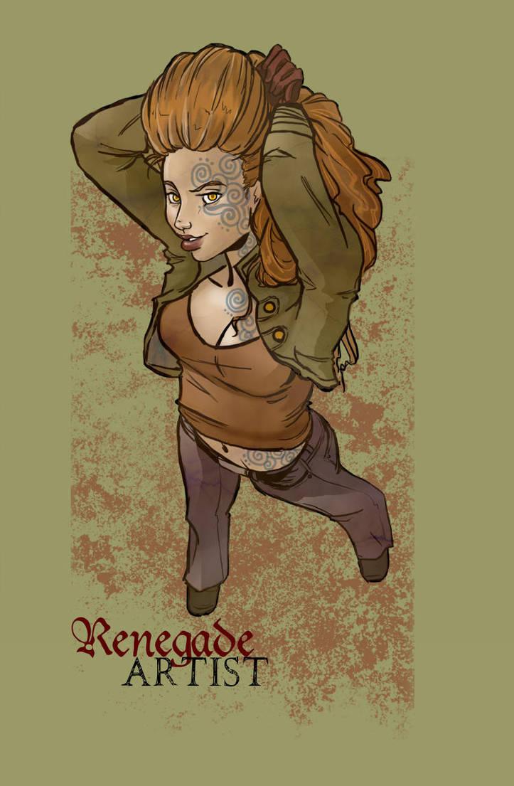 Renegade Artist by Le-Artist-Boheme