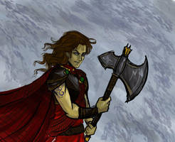Nephrite Warlord by Le-Artist-Boheme