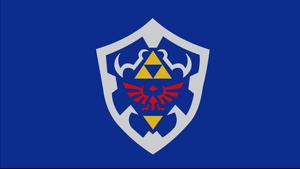 Hylian Shield by dragonitearmy