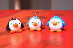 Penguin Family by janeybaby