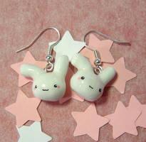 Cute Bunny Earrings by janeybaby