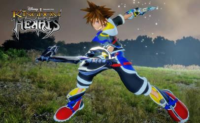 KH Reimagined Sora for FFXV DL by todsen19