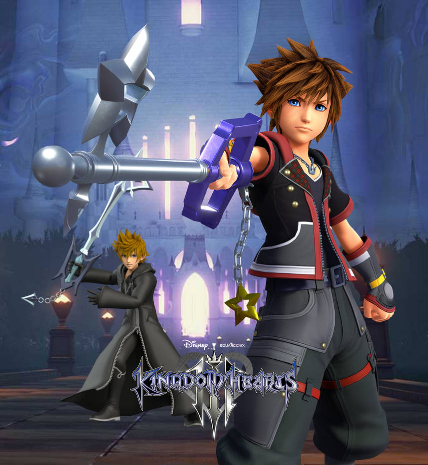 KH3 Sora And Roxas Promo 01 By Todsen19 On DeviantArt