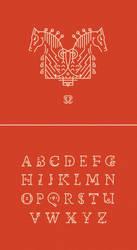 Sleipnir Typeface by shoelesspeacock