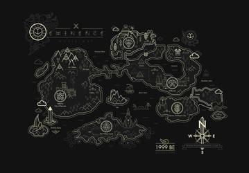 Eminence World Map by shoelesspeacock