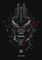 Megatron by shoelesspeacock
