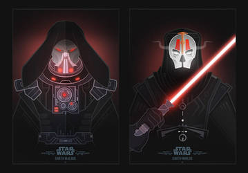 Star Wars Villains by shoelesspeacock