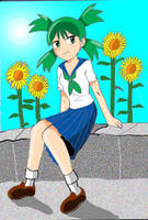 Highschool Yotsuba by Koku-chan