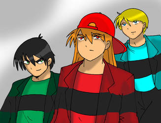 The boys're back in Townsville by Koku-chan
