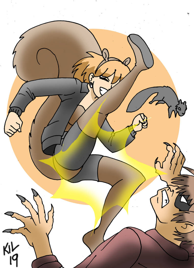 Squirrel Girl action! by Koku-chan