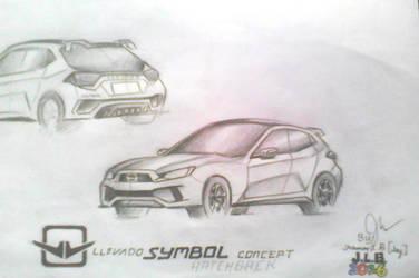 Llevado SYMBOL Concept Design: Hatchback by SammfeatBlueheart