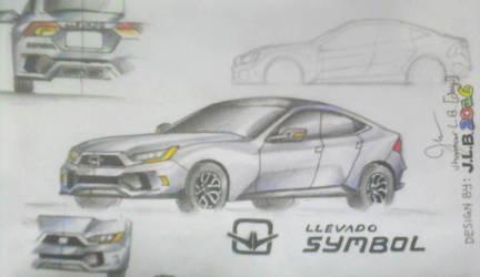 Llevado SYMBOL: Pre-Final design by SammfeatBlueheart