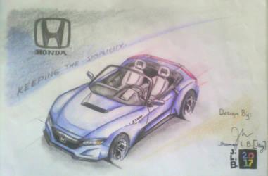 Honda S2000 Concept: Simplicity by SammfeatBlueheart