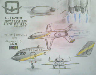 If I Designed a Private Jet by SammfeatBlueheart