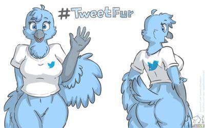 #TweetFur by SammfeatBlueheart