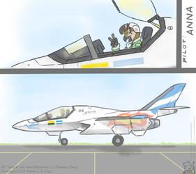 G6 Jerzyk - Ready for Take Off by SammfeatBlueheart