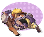 Coy n Willow by Eaglidots