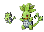 Seedtle Party Sprite by NaoTheSillyDuffer