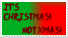 It's Christmas Stamp by SailorSolar