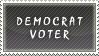Democrat Voter Stamp by SailorSolar
