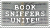 Book Sniffers Stamp by SailorSolar