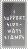 Sideways Stamp by SailorSolar