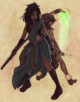 ff13: fang and vanille 8D by hchan