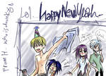 happy new tyear by hchan