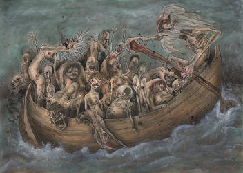 Dantes divine comedy by BBarends