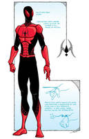 Spider-Man redesign by GreatScottArt