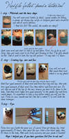 Needle felting tutorial - panda [english] by varjules