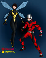 Ant-Man and The Wasp alternate by TJJones96