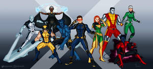 The X-Men by TJJones96