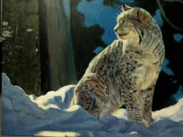 Lonely Lynx by Crimsonlily434