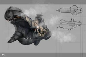 airship by TerryLH