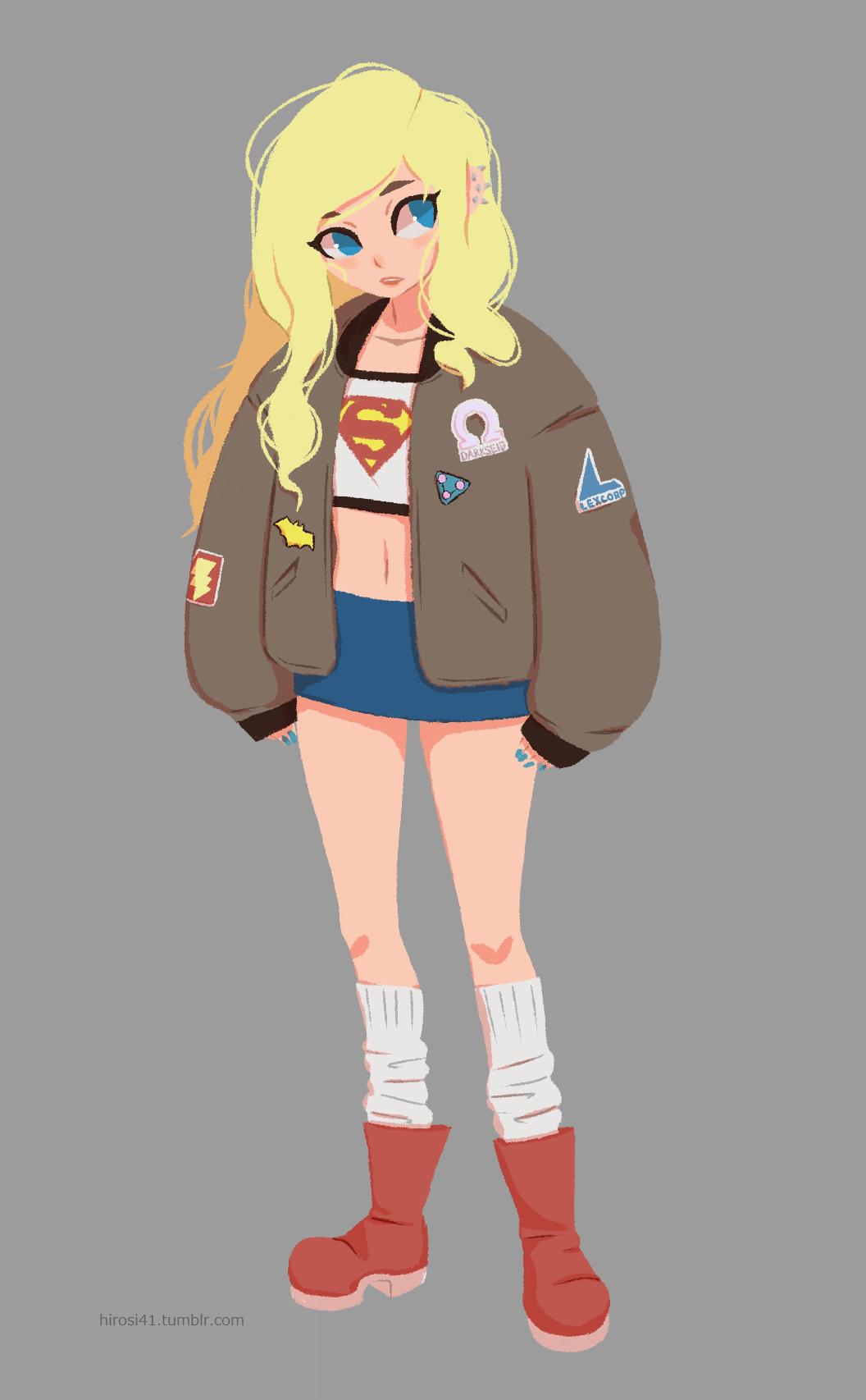 Supergirl by hirosi41