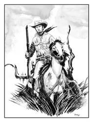 Tex...the hunter by ronaldguimaraes