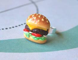 Cheeseburger Ring by Madizzo