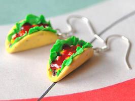 Taco Earrings by Madizzo