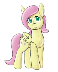 Shiny Fluttershy by PonBalloon