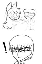 DexterXBlossomXHuman!Aku- Nope! by HikariShiroiongaku