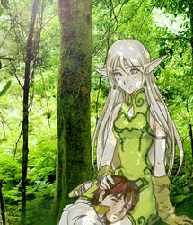 Deedlit _ Record of Lodoss War by sweetcholate